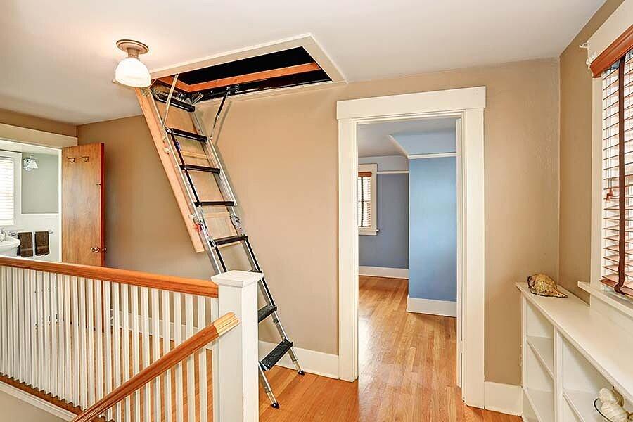 Выбор чердачной лестницы: полезные советы